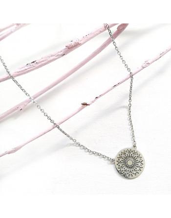collar de plata SEU
